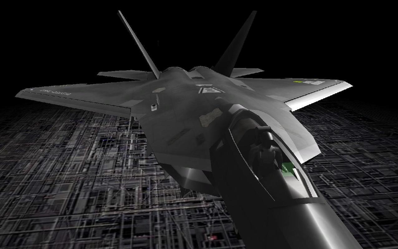 SAF-22 Slayerのモデリング 1[アサルトスフィア体験版]