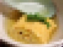 出汁仕立てふわふわ玉子焼(モザイク) 1[めしや秀月]