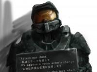 『Halo4』声優(吹き替えキャスト)変更反対イラスト[アイキャッチ]