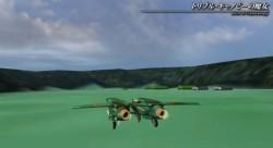 モデルが一新されたR-17の離陸(『トリプル・キャノピーの魔女』PVより)