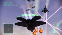 レーザー付き無人機を率いるCFA-44(と思しき)と激突[エースコンバット インフィニティ]