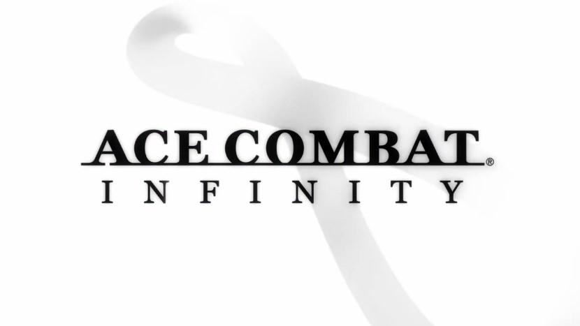 『エースコンバット インフィニティ』ロゴ
