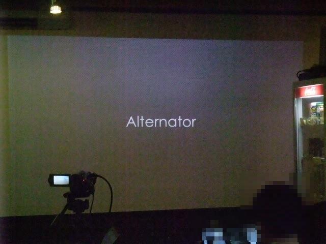 キーワード「Alternator」[I3 2013]