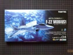 トミーテック技MIX「F-22 メビウス1」開封の儀[エースコンバット04]