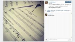 デジハリ2014年卒業制作展特別講演で使う資料(楽譜)[エースコンバット インフィニティ]