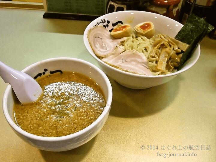 つけめん 空(しょうゆ)・スタンダード[超ごってり麺ごっつ]