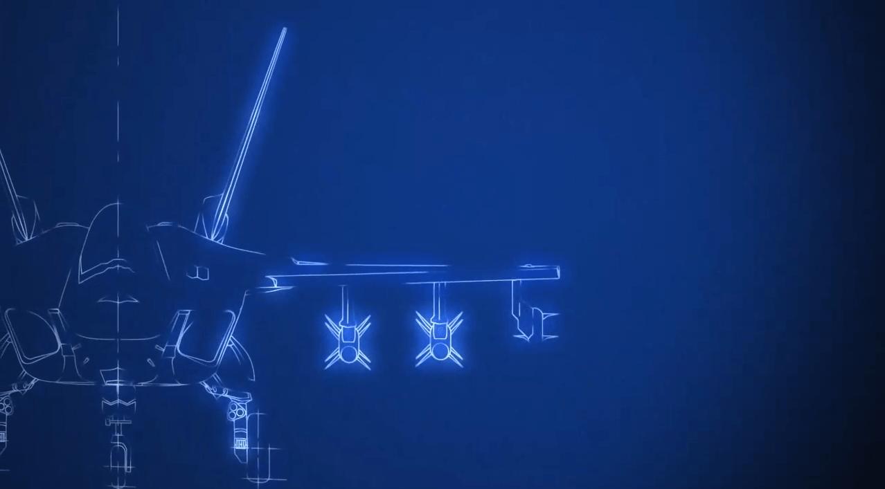 「ATD-X 心神」三面図 2[エースコンバット インフィニティ]