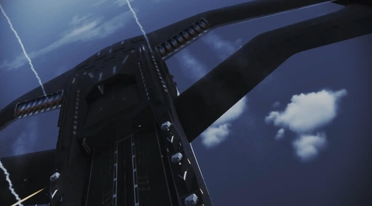 黒アイガイオン[エースコンバット インフィニティ]