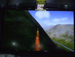 山肌を撫でるASM-3[VERTICAL STRIKE][東京ゲームショウ2015]