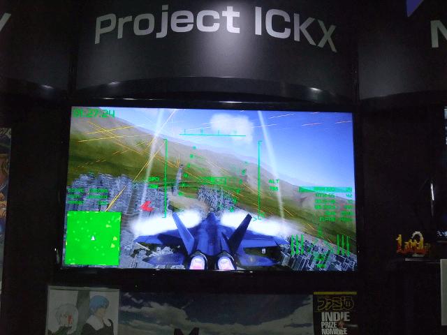 美しくも恐ろしいST2――Project ICKX東京ゲームショウ2015レポート