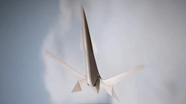第三の敵!? 異形の前進翼機が姿を現すE3 2017トレイラーが公開[エースコンバット7]