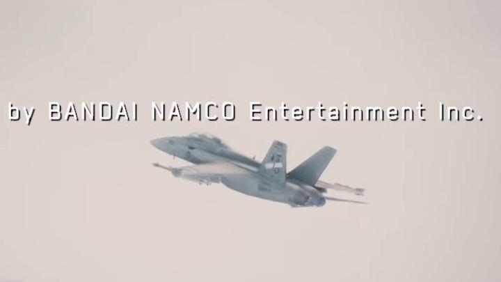 1本線のF/A-18とSu-30SMのドッグファイト[エースコンバット7]
