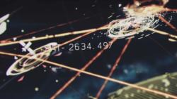 攻撃される人工衛星[エースコンバット7]