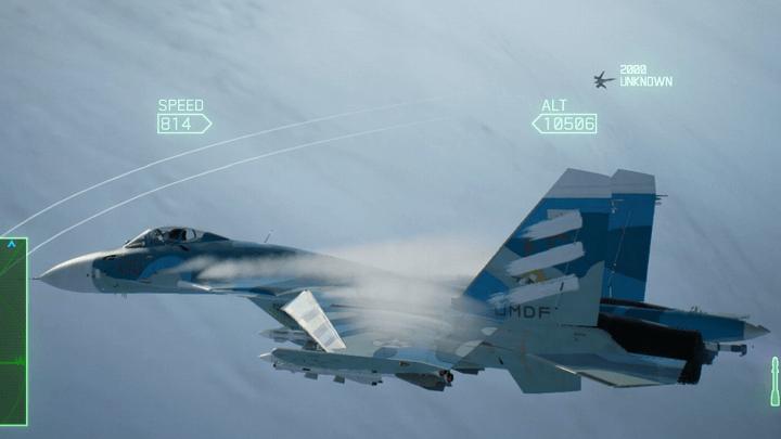 「異形の前進翼機」と初遭遇[エースコンバット7]